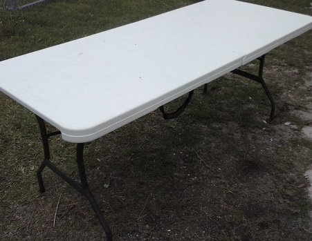 Folding Utility Table 6 ft.