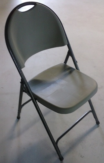 Folding Metal Chairs